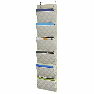 Homyfort Over The Door Hanging File Organizer Office Supplies Storage Folder