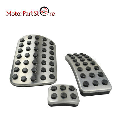 Stainless Steel Sport Brake Pedal Pads Cover For Mercedes Benz M GL R Class AMG