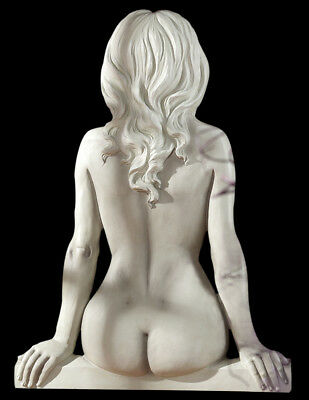 Naked Nude Girl Female Wall Sculpture