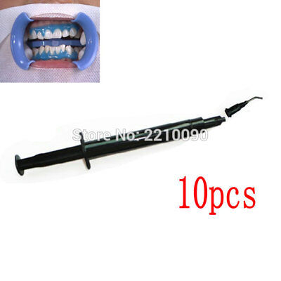 3ml FDA Gingival Gum Protector Syringe Before Teeth Whitening Gel Black 10 Piece