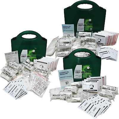 Steroplast HSE Compliant Premier Response First Aid Kit, 10, 20, 50 Person