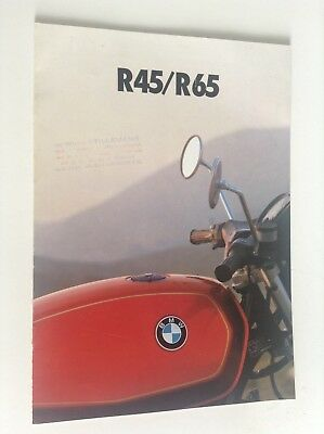 catalogue Moto R45 R65 BMW 1979 TBE