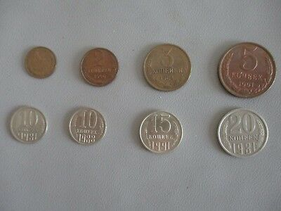 Soviet era coin lot