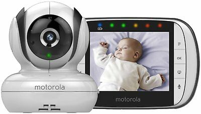 "Motorola MBP36S Digital Video Monitor 3.5"" Colour LCD Display,"