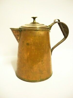 Rare Thomas Bulpitt & Sons (later Swan Brand) Copper Kettle Jug 1901