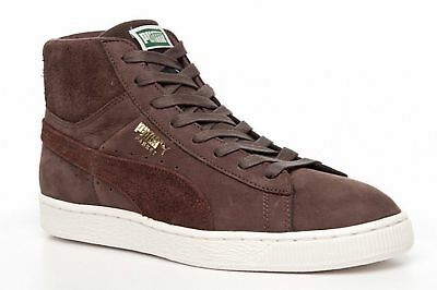 grossiste c2f32 95f27 PUMA SUEDE BASKET Shoes Hi Tops Classic Leather Trainers Boots