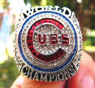 BAEZ ! 2016 Chicago Cubs World Series Championship Ring Men Gift
