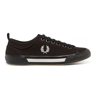 FRED PERRY SCHUHE Sneaker Horton Canvas B3190 102 Schwarz