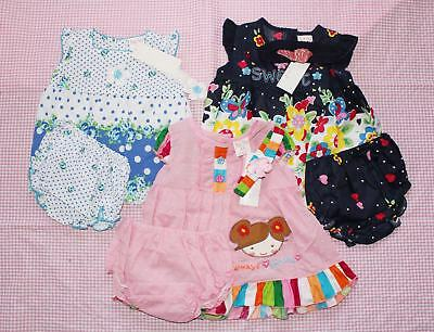 #F22, Baby Girl Clothes 9 Pcs/3 Set Baby Girl 6-9 Months Skirt+pants+Headband