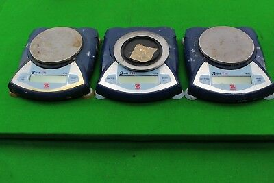 Job Lot of 3 Ohaus Scout Pro SPU402 Digital Weighing Scales Lab Jewellery