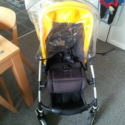 bugaboo bee 3 Stroller with rain cover and cosytoes