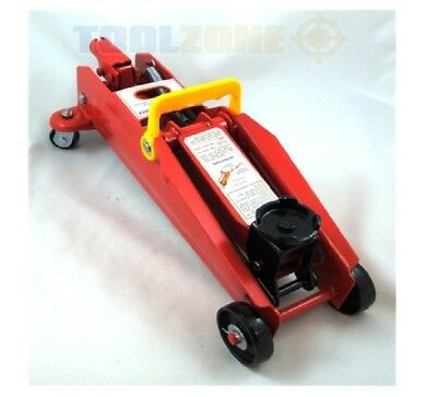HEAVY DUTY 2 Ton Hydraulic Trolley Floor Lifting Jack Car Van Lift Jack Toolzone
