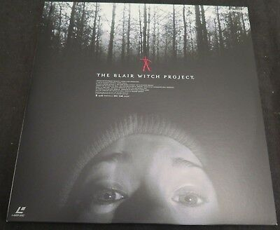The Blair Witch Project - Laserdisc- RARE