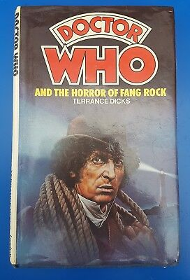 "DR WHO The Horror Of Fang Rock """" Hardbck"""""