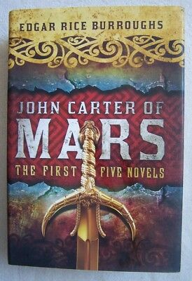 John Carter of Mars: The First Five Novels by Edgar Rice Burroughs Hardcover