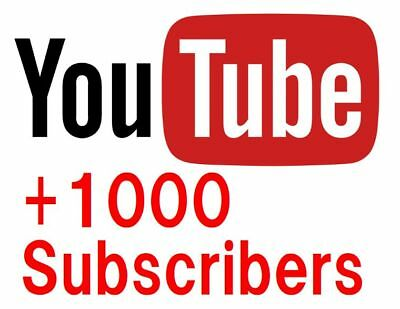 【within 72 Hours】YouTube Subs. +1000 Real Youtube Channel Promotion