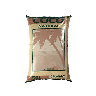 Canna Coco Natural Coir 50L Hydroponic Growing Medium / Soil