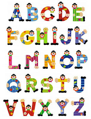 SEVI LETTERS - Clown - A to Z