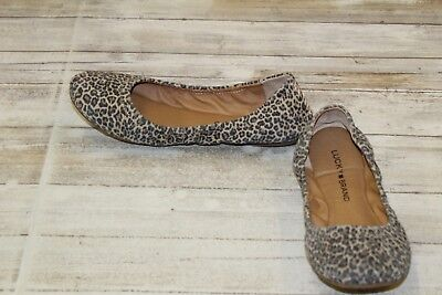 bc94172ad LUCKY BRAND EMMIE Flat - Women's Size 7M Leopard - $21.00   PicClick