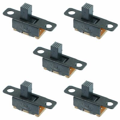 5 x Mini Miniature On/on 3-Pin Slide Switch SPDT