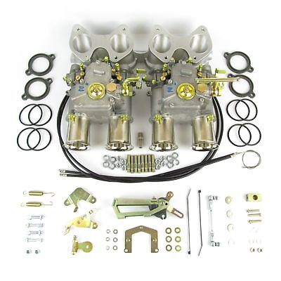 Genuine Weber twin 45DCOE G carburettor kit for VW Golf 16v inc manifold & link