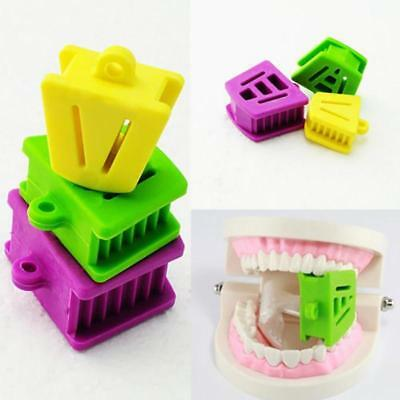 3pcs Dental Silicone Latex Mouth Prop Bite Blocks Opener Large/Medium/Small