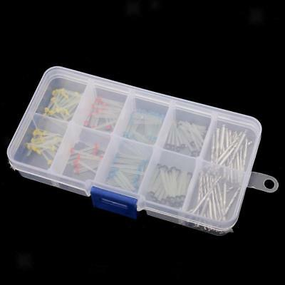160pcs Endodontic Dental Glass Fiber Post Single Refilled Package & 32pcs Drills