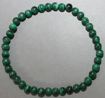 "Bracelet Malachite 4 mm ""Médium"""