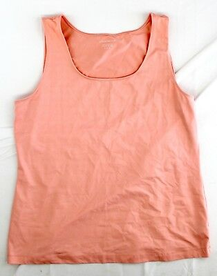 744beec12cb34 CHARTER CLUB SZ xl peach color tank top sleeveless layering summer ...