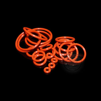 2~37MM Red Food Grade Silicone O-Ring (Line diameter:2.0mm)