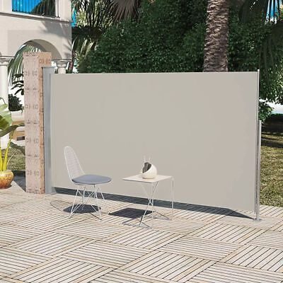 Garden Screening Retractable Side Awning Patio Privacy Divider 180 x 300 cm UK