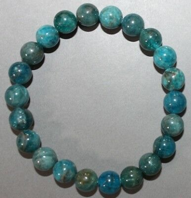 "Bracelet Cyanite 8 mm ""Large"""