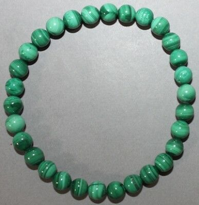 "Bracelet Malachite 6 mm ""Large"""