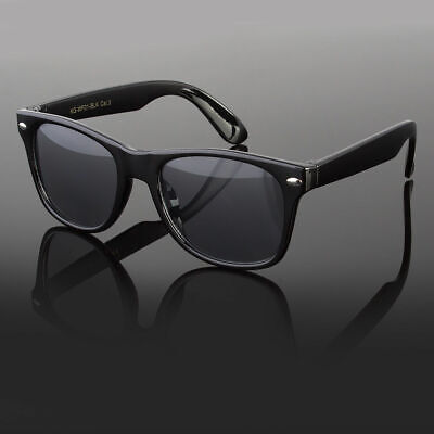 Kids Toddler Boys Girls Black Wayfarer Classic Retro Sunglasses Shades