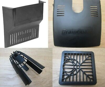 BLACK TRADITIONAL Gully Grid Grate Drain Cover Drainage guard Gutter Lid Cap