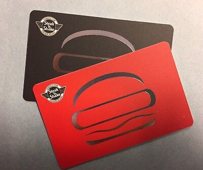 2 $25 Steak N Shake Gift Cards! $50 Total Value! Buy Burgers, Fries, and Shakes!