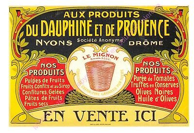CP AFFICHE REPRODUCTION CONFITURE DE NYONS Edt CARTEXPO 10868