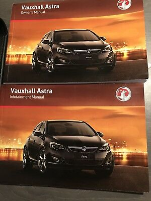 genuine vauxhall astra owners manual handbook infotainment pack 2009 rh picclick co uk Opel Astra 2013 opel astra k infotainment system manual
