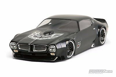 Proline Racing 1971 Pontiac Firebird Trans Am Clear Body for Vintage Trans Am PR