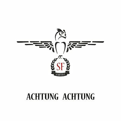 Scarf Face - Achtung Achtung Black Vinyl LP New & Sealed Limited Edition of 400