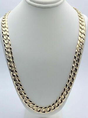 8f3265dbcb491 14K SOLID GOLD Handmade Link Men's chain/Necklace 22