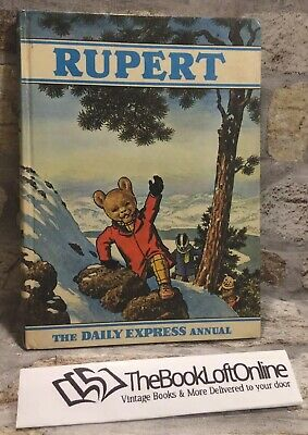 Vintage Rupert Annual 1970 Collectable Rare Daily Express Children's Book TBLO