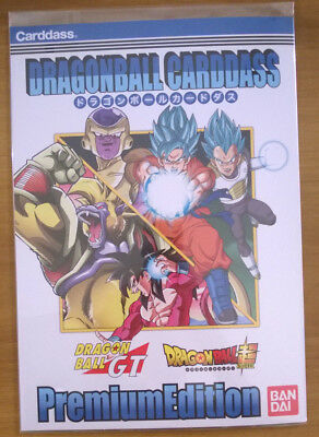 Dragon Ball Carddass Premium Edition・Dragon Ball GT + Super [6 Cartes]