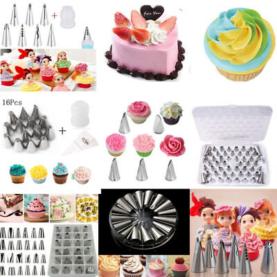 1 Set Russian Tulip Icing Piping Nozzles Cake Decoration Tips Pastry Tool