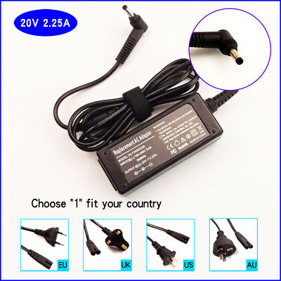 45W AC Adapter Charger For Lenovo Ideapad 110-15IBR 80T7 Laptop Power Supply