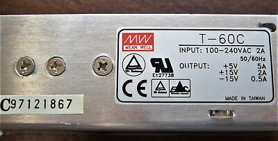 Mean-Well-MW T-60C 5V-15V-Triple-Output-Switching-Power-Supply