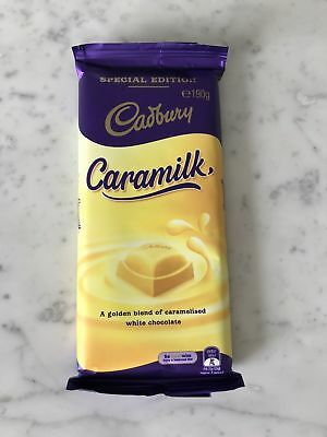 Cadbury CARAMILK *Special Edition* 190g Chocolate Block - Unrecalled Batch