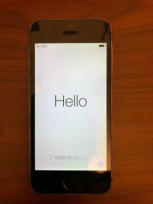 Apple iPhone 5s - 16GB - Space Gray (Unlocked) A1533 (GSM) with Original Box