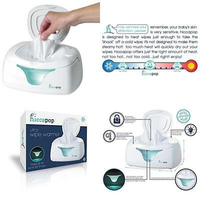 hiccapop Wipe Warmer and Baby Wet Wipes Dispenser   Holder   Case with Changing