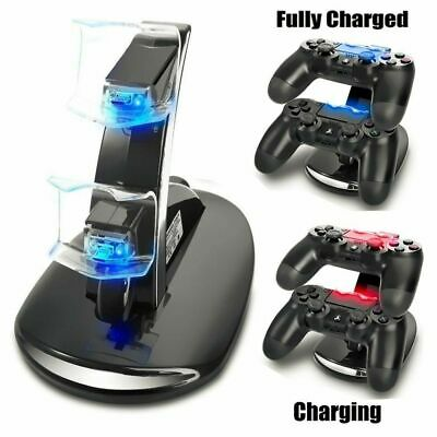 For PS4 Controller Charging Station Dock Stand - Dualshock USB Port Charger Pad